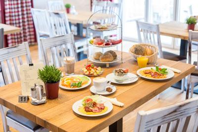 Cafe Frühstück